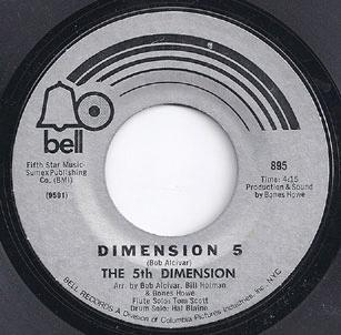5th Dimension - Save The Country / Dimension 5