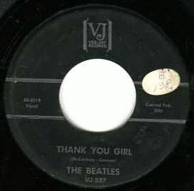 Beatles - Thank You Girl / Do You Want To Know A Secret