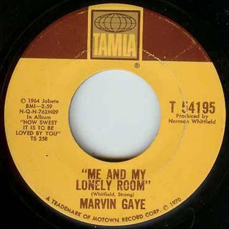 Gaye, Marvin - The End Of Our Road / Me And My Lonely Room