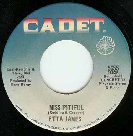 James, Etta - Miss Pitiful / Bobby Is His Name Album