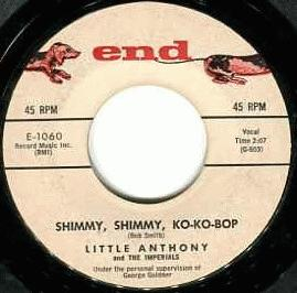 Little Anthony & The Imperials - Simmy Shimmy Ko Ko Bop / I'm Still In Love With You