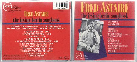 Fred Astaire The Irving Berlin Songbook Records Lps