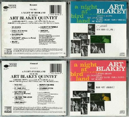 Blakey, Art Quintet - Night At Birdland Volumes 1 & 2