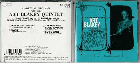 Blakey, Art & Jazz Messengers - Night At Birdland Volume 3
