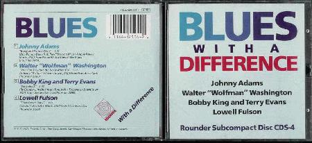 Various Artists - Blues With A Difference