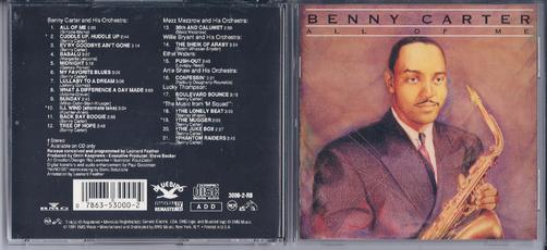 Benny Carter Records Lps Vinyl And Cds Musicstack