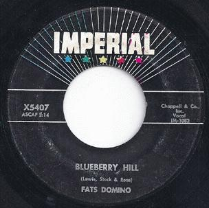Domino, Fats - Blueberry Hill / Honey Chile