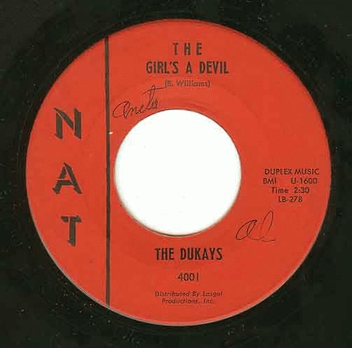 Dukays, The - I Feel Good All Over / I Never Knew