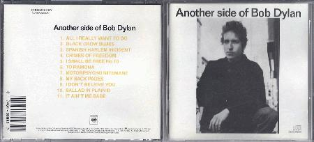 Dylan, Bob - Another Side Of Bob Dylan CD