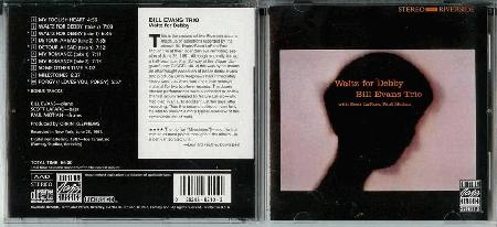Bill Evans Trio Waltz For Debby Records Lps Vinyl And