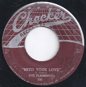 Flamingos - I'll Be Home / Need Your Love