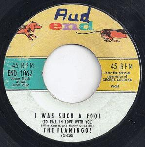 Flamingos - I Was Such A Fool (to Fall In Love With You / Heavenly Angel)