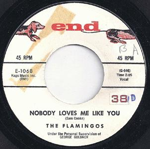 Flamingos - Nobody Loves Me Like You / You Me And The Sea Record