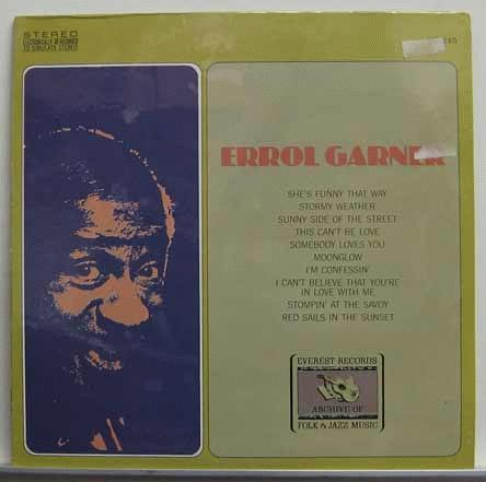 Erroll Garner Plays Gershwin & Kern - GARNER, ERROLL