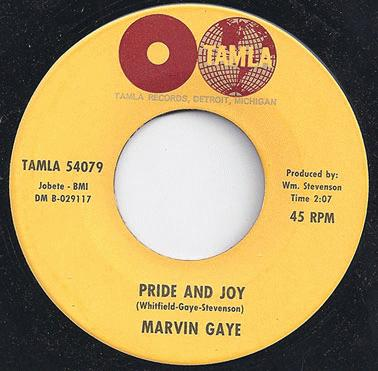 Gaye, Marvin - Pride And Joy / One Of These Days Record