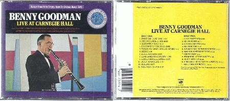 GOODMAN, BENNY - Live At Carnegie Hall 23 Tracks