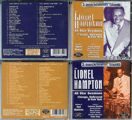 Lionel Hampton All Star Groups And Orchestra Records Lps