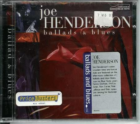 Henderson, Joe - Ballads & Blues