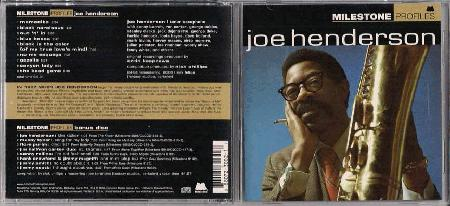 Henderson, Joe - Profiles