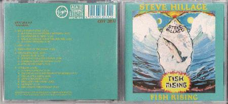 Hillage, Steve - Fish Rising Album