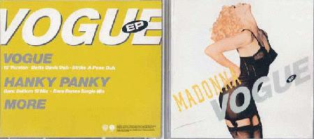 Madonna - Vogue Ep (made In Japan)