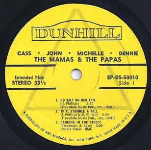 Mamas & The Papas - Cass John Michelle Dennie