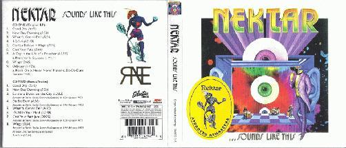 Nektar - Sounds Like This CD