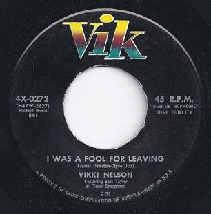 I Was A Fool For Leaving