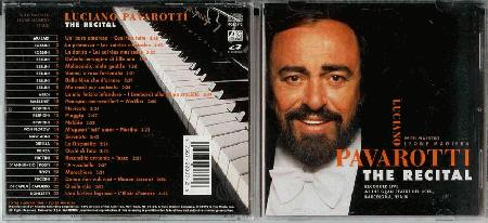Luciano Pavarotti Recital Records Lps Vinyl And Cds