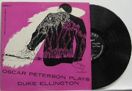 Peterson, Oscar - Plays Duke Ellington Album