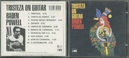 Baden Powell Tristeza On Guitar Records Lps Vinyl And Cds Musicstack
