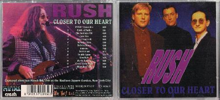Rush - Closer To Our Heart
