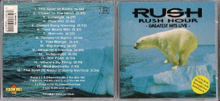 Rush - Rush Hour Greatest Hits Live