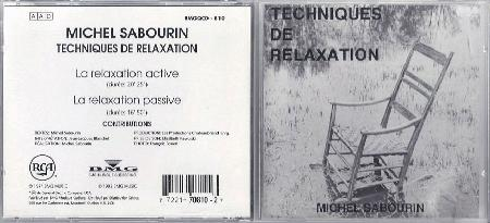sabourin michel techniques de relaxation records lps vinyl and cds musicstack. Black Bedroom Furniture Sets. Home Design Ideas