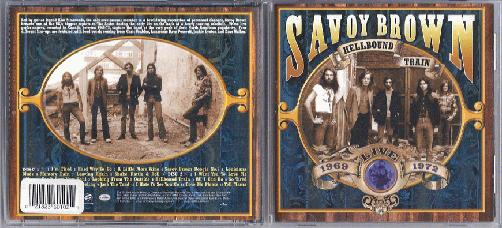 Savoy Brown - Hellbound Train Live 1969 - 1972