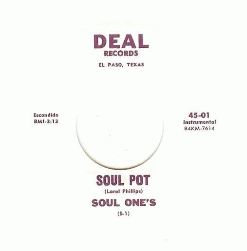 Soul One's - Soul Pot / This Is My Prayer