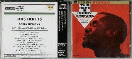 Timmons, Bobby - This Here Is Bobby Timmons Album