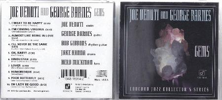 Venuti, Joe & George Barnes - Gems Album