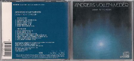 Vollenweider, Andreas - Down To The Moon Record