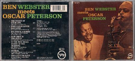 Ben Webster Ben Records Lps Vinyl And Cds Musicstack