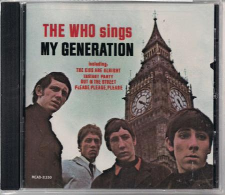 Who - Sings My Generation Album