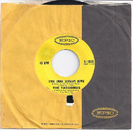 Yardbirds - Over Under Sideways Down / Jeff's Boogie
