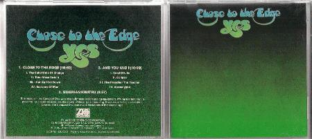 Yes Close To The Edge Records Lps Vinyl And Cds Musicstack