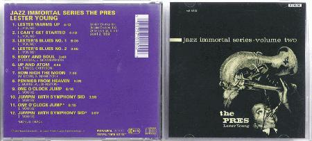 Jazz Immortal Series Vol 2