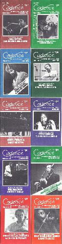 Various Authors Cadence Magazine Volume 6 1980 10 Issues BOOKS