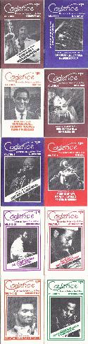 Various Authors Cadence Magazine Volume 7 1981 10 Issues BOOKS